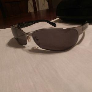 15a42ad0b35df ... promo code for prada accessories prada mens sunglasses model spr53f  black silver ba309 ecd5d